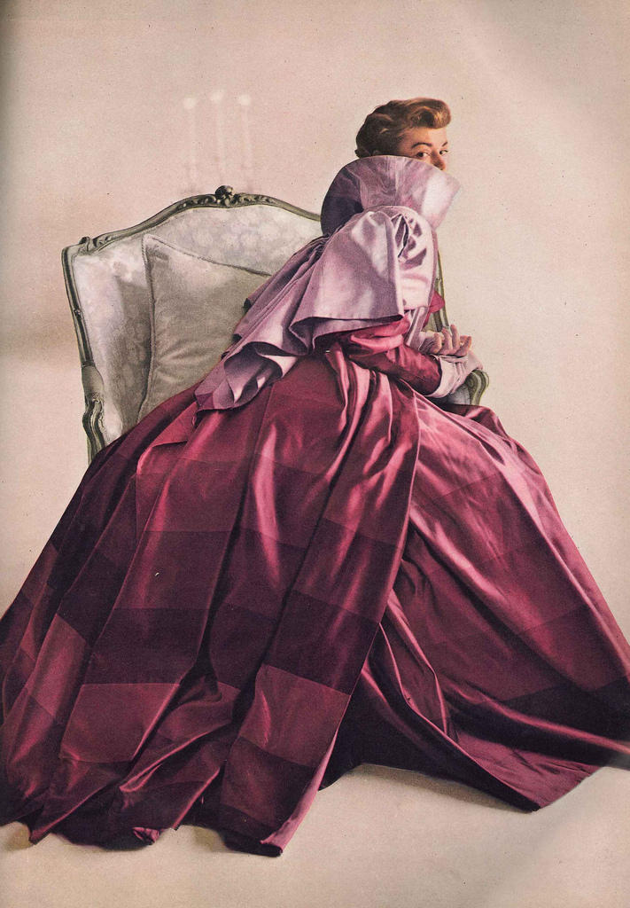 1940s fashion Jeannie Patchett for Vogue