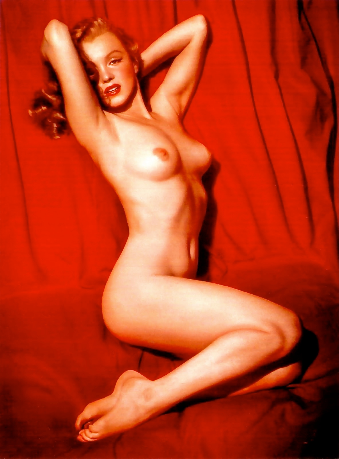 Marilyn Monroe nude calendar
