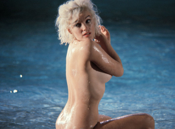 Marilyn Monroe naked