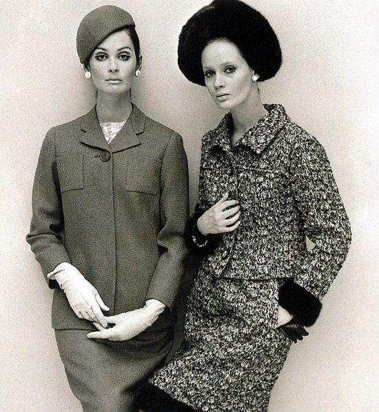 1960s fashion photo by John French