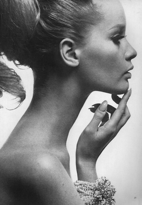 1960s model Celia Hammond