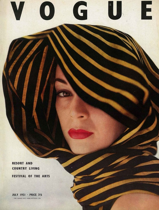 Jeannie Patchett covering 1950s Vogue