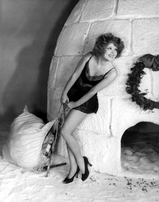 1920s Christmas with Clara Bow