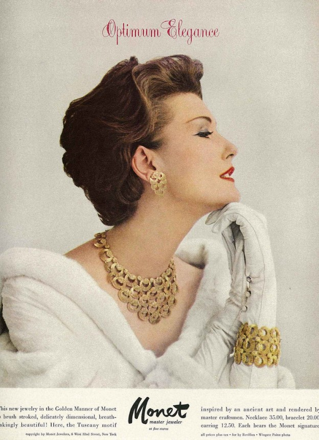 Mary Jane Russell in Vogue 1957
