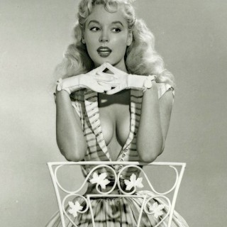 50s pin up Betty Brosmer and Nerina Orton (and the trend for tiny waists)