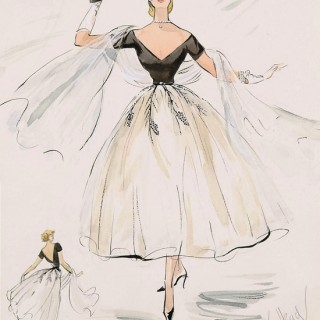 Grace Kelly's costume design for Rear Window