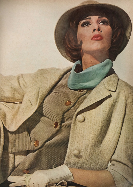Wilhelmina in 1960s Vogue