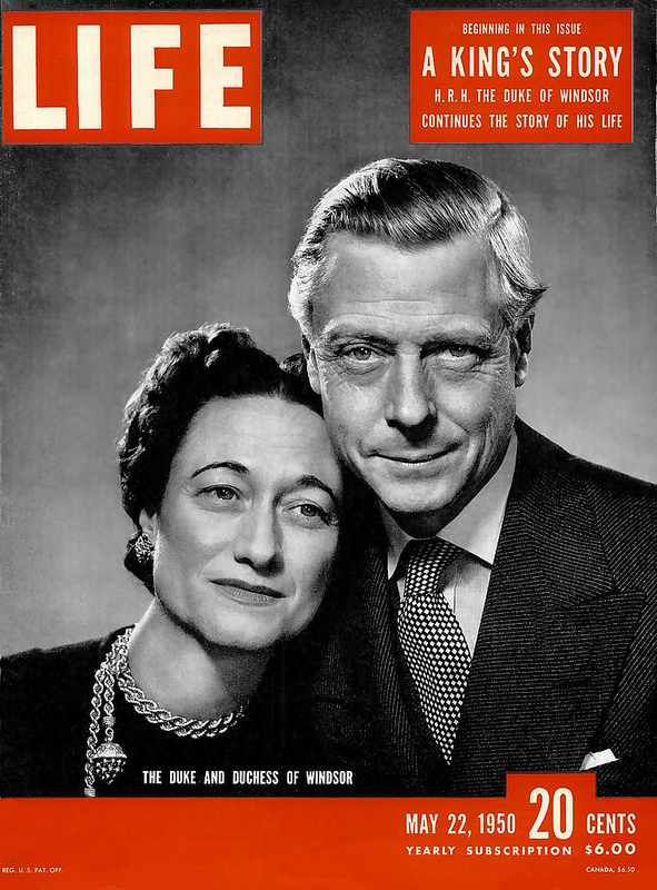 Duke & Duchess of windsor LIFE Magazine