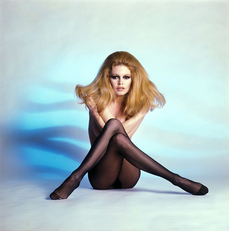 Brigitte Bardot pin up photo