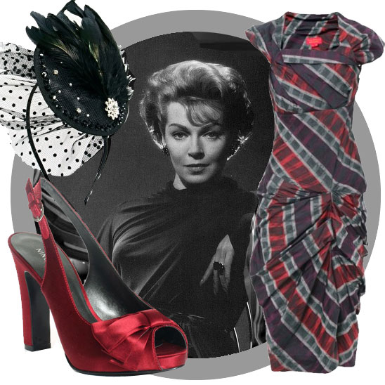 Vintage look book: Lana Turner in Vivienne Westwood
