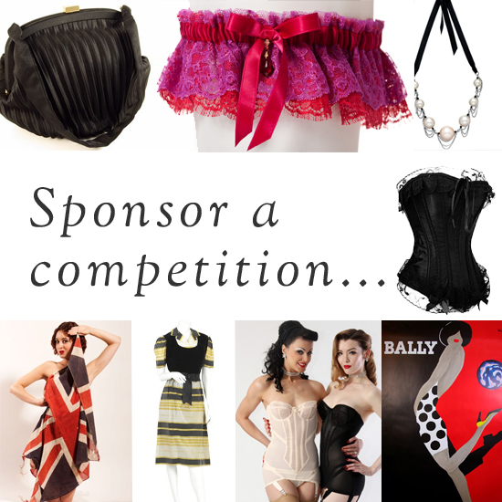 Sponsor a competition on We Heart Vintage