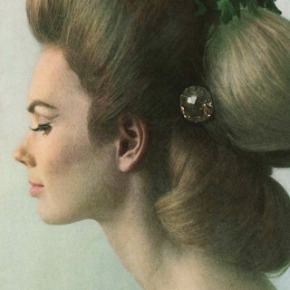 Herb hair from 1960s Vogue