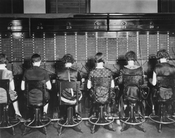 1920s telephone exchange
