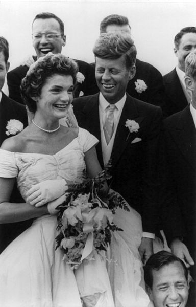 Jackie Kennedy wedding dress