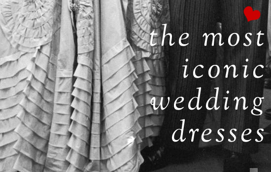 iconic wedding dresses