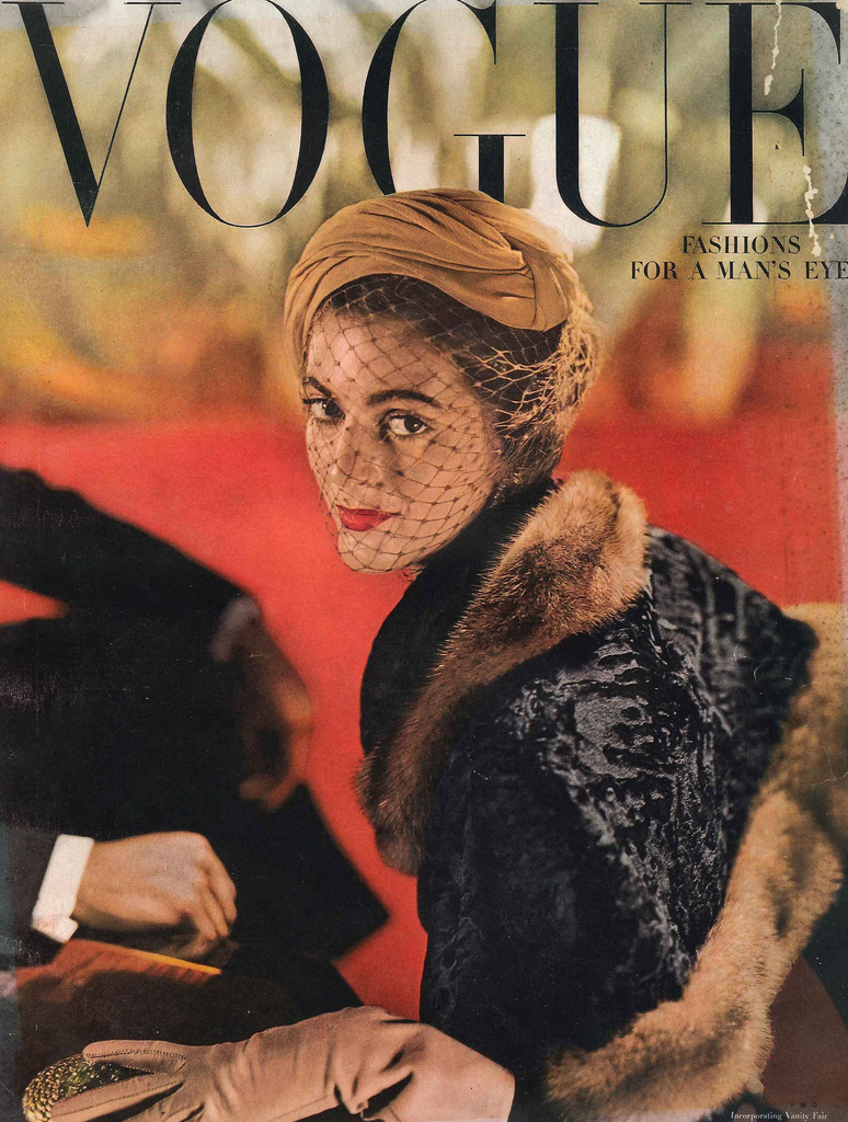 1940s Vogue cover