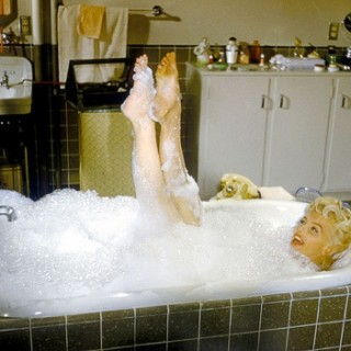 Marilyn Monroe nude in the bath