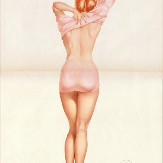 Vintage Vargas pin up from Esquire