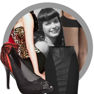 Vintage look book: Bettie Page