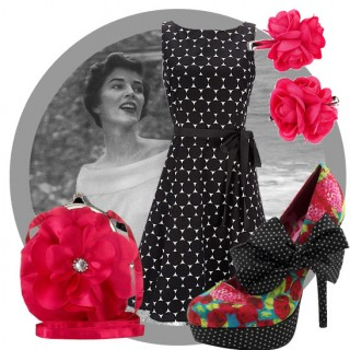 Vintage look book: polka dot darling