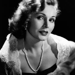 A young glamorous Zsa Zsa Gabor