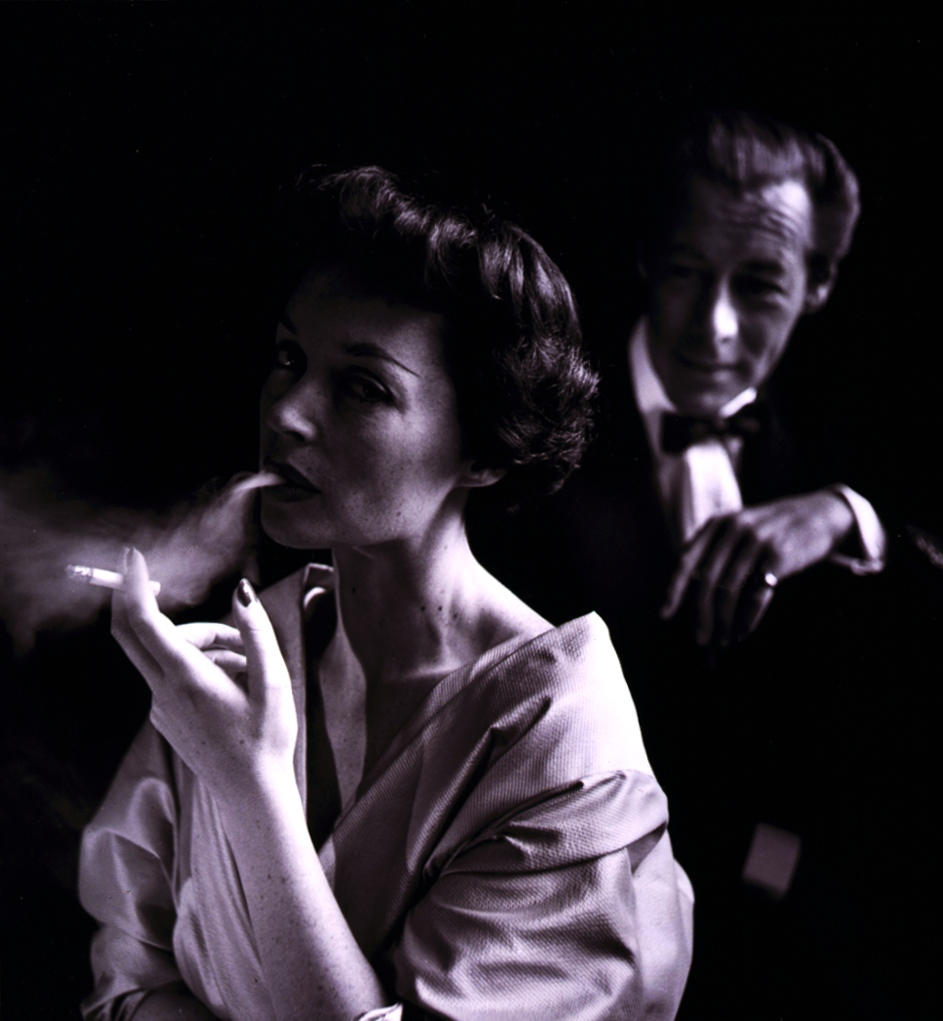 Rex Harrison and Lilli Palmer