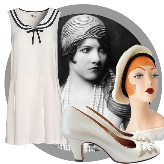 1920s nautical outfit