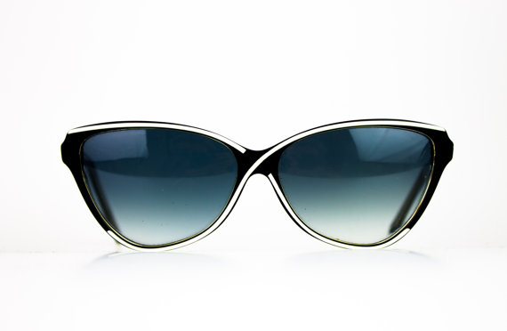 1980s Balmain Cateye Sunglasses