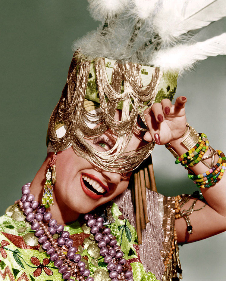 Hollywood cocktails: Carmen Miranda