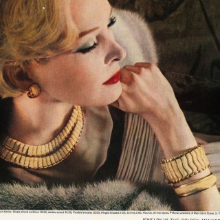 1950s costume jewellery by Monet