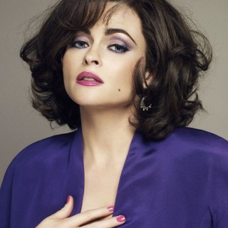 Helena Bonham-Carter as Elizabeth Taylor in a new BBC drama