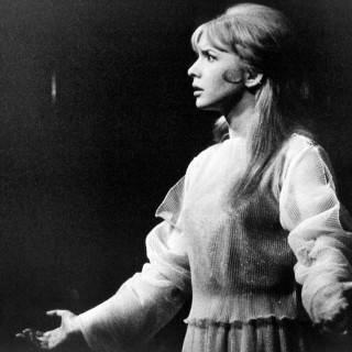 Jane Asher as Juliet in 1960s