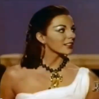 Joan Collins screentest for Liz Taylors part in Cleopatra