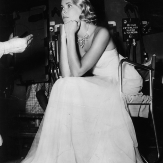 Grace Kelly looking… enigmatic?