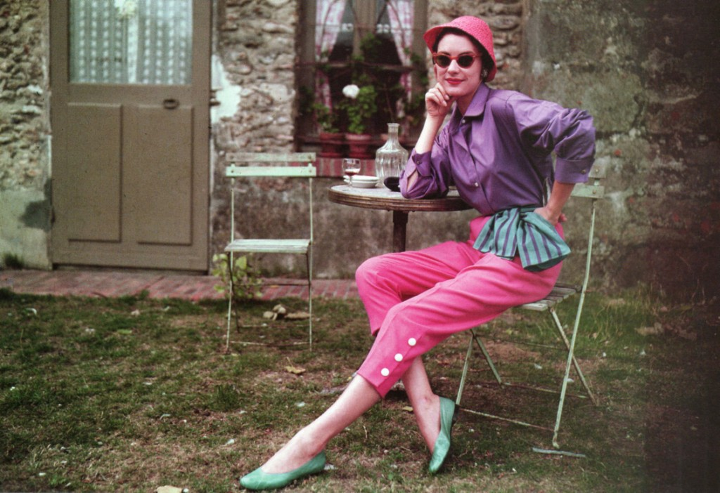 1950s fashions: capri pants