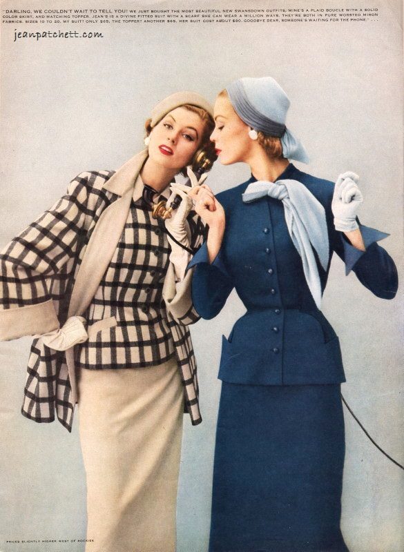 Jean Patchett and Suzy Parker