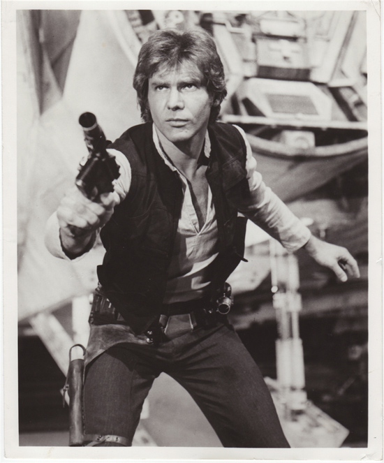 Harrison Ford as Han Solo Star Wars