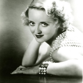 Bette Davis in Pearls