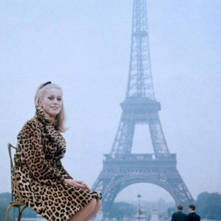 2 French Icons: Catherine Deneuve and the Eiffel Tower