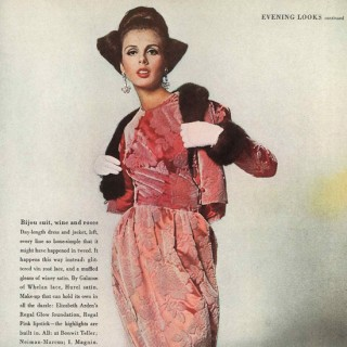 Tilly Tizzani, October Vogue 1962