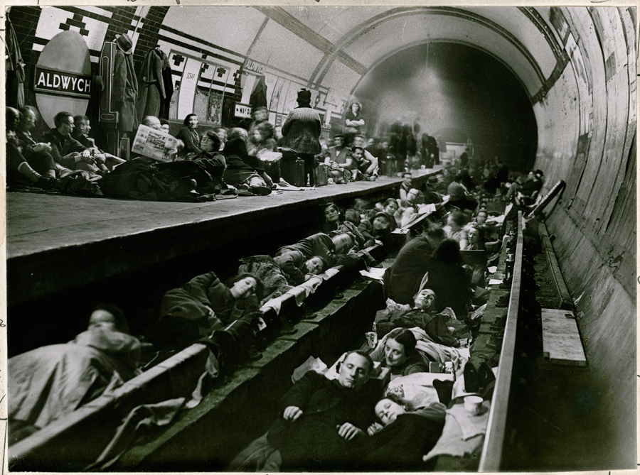 The Blitz in London Underground