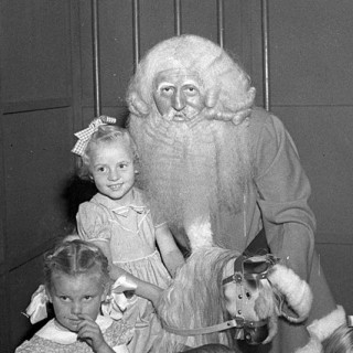 The Changing Face of Santa