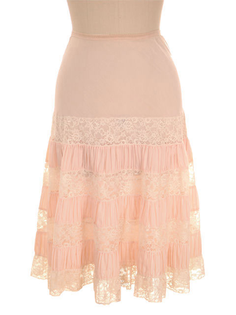 Vintage Pink Petticoat Can Can 1950s