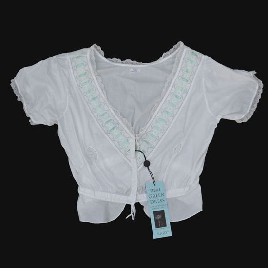 Edwardian Broderie Anglaise Bodice Blouse