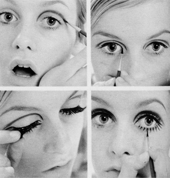 1960s makeup Twiggy