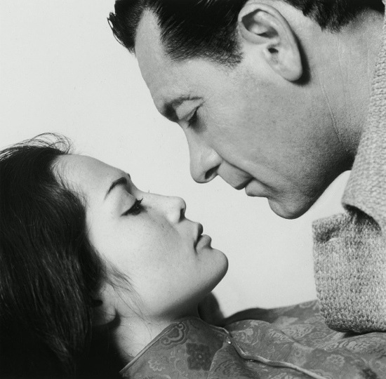 Nancy Kwan and William Holden in the 1960 film The World of Suzie Wong.