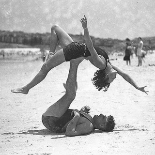 Gallery: 1930s Beach Acrobatics