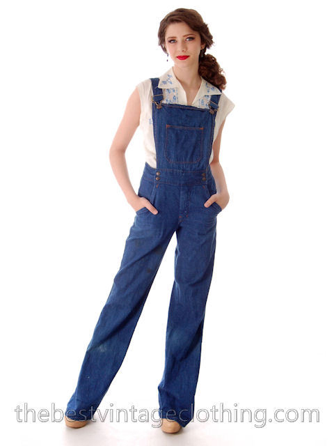 1970s dungarees