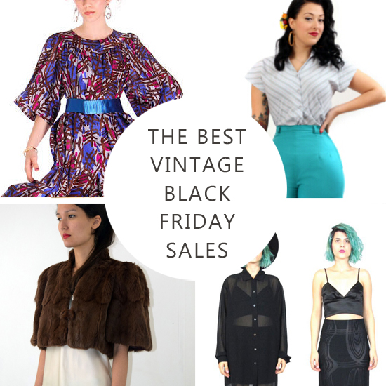 Vintage Shopping: The Best Black Friday Discount Codes and Sales