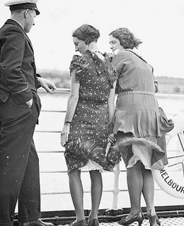 A Moment in Time: Skirts Blowing in the Wind 1930